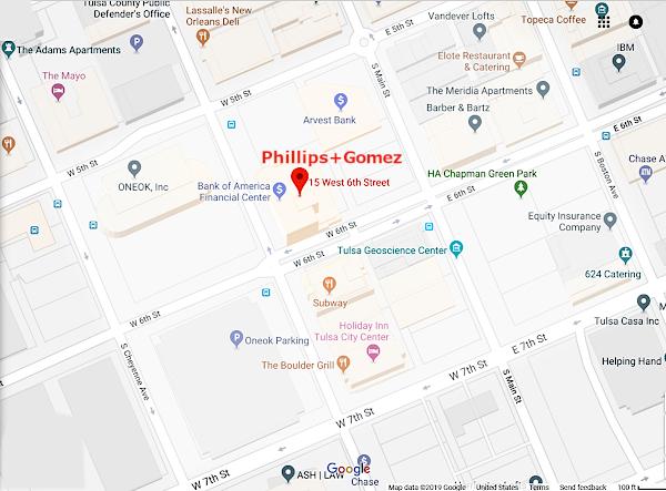 Phillips+Gomez on Google Maps